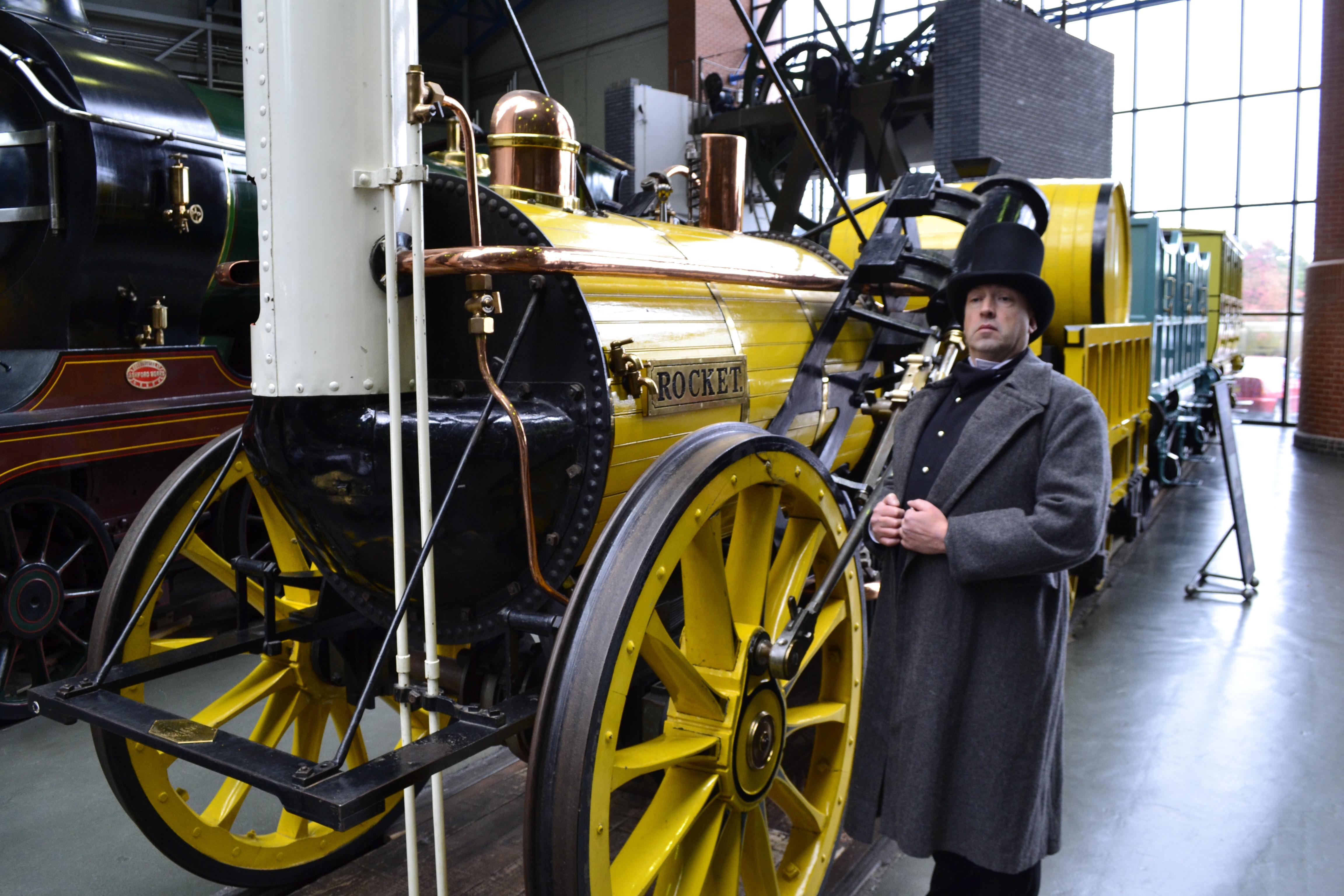 Robert Stephenson Humpus creator